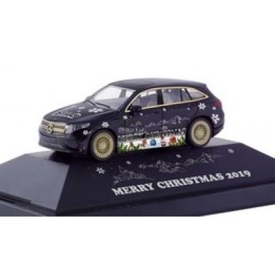 Herpa PKW MB EQC AMG Weihnachts-PKW 2019 102155