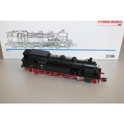 Tenderlok BR 78 der DB, schwarz, Betr.Nr. 78355, Kesselleitungen aus ...