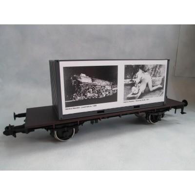 Züge Züge Die Eisenbahn in der zeitgenössischen Kunst